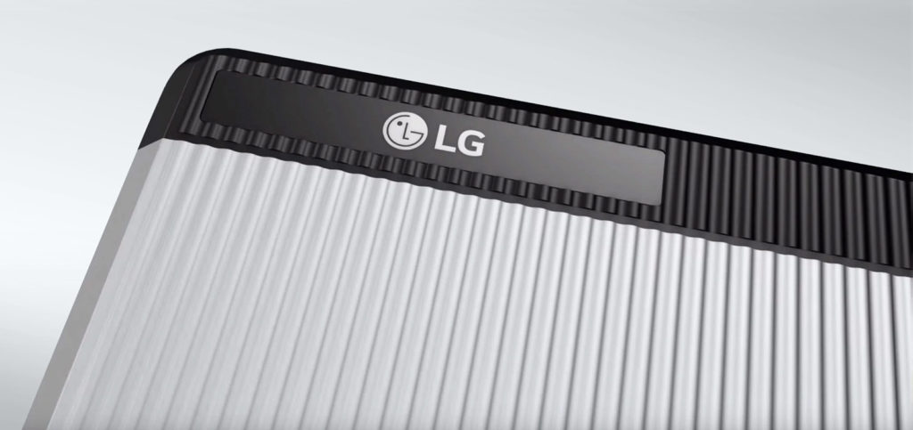 LG Chem Resu solar power battery