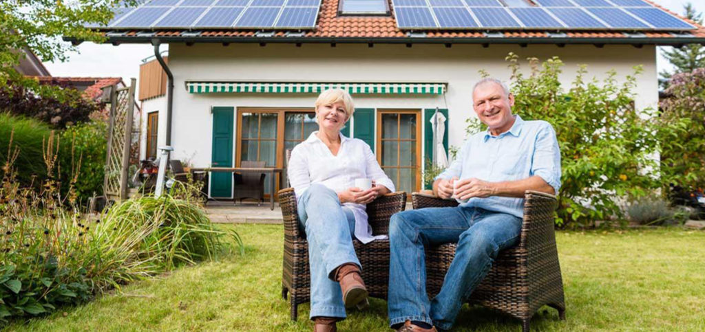 solar power cost for elderly non-working couple